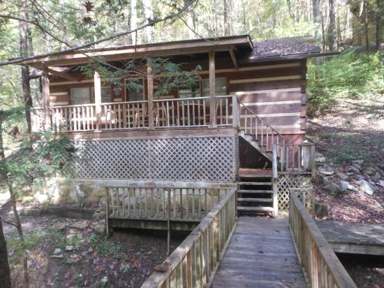The Wright Cabins: Brookside Cabin
