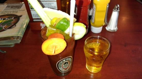 Richmond, IL: Bloody Mary w/beer chaser