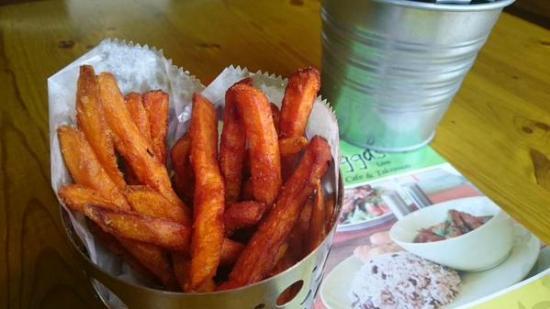 Raggas: Sweet Potato Fries [Lark Lane]