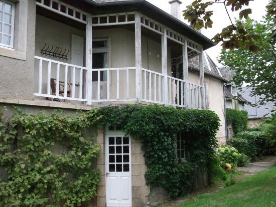 Affieux, Франция: kamer op 1ste verdiep