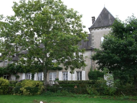 Affieux, Франция: Zeer mooi origineel gebouw