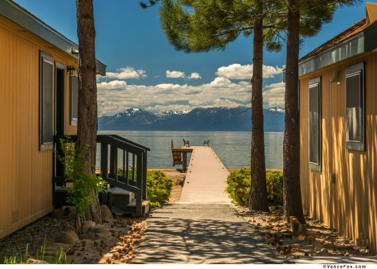 Franciscan Lakeside Lodge: Breathtaking views of Lake Tahoe right out your door!