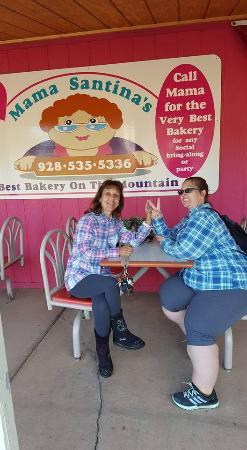 Overgaard, AZ: Outside Mama Santina's