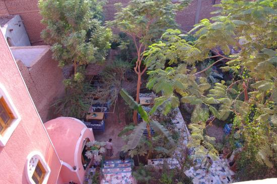 El Fayrouz: vue du jardin