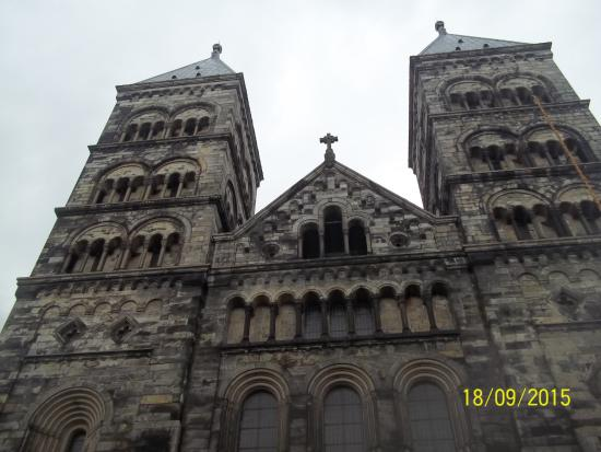 Lund, İsveç: Two towers of the Cathedral