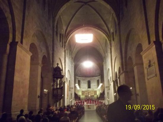 Lund, İsveç: Inside the Chathedral