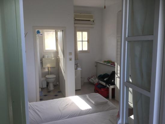 Inside room 4 at Villa Zografos