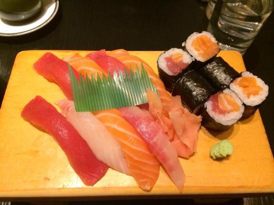 Koetsu: Menu sushi