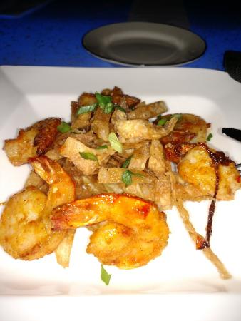 Blu: Shanghai Shrimp shareable tapa