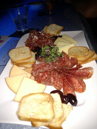 Blu: International Meat and Cheese Board