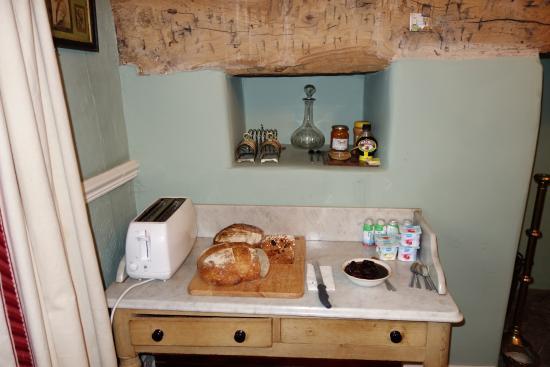The Old Parsonage: Pâes de fabricação própria para o café-da-manhã