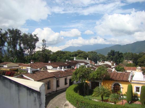 Hotel Palacio de Dona Beatriz: Vista desde la terraza del Hotel