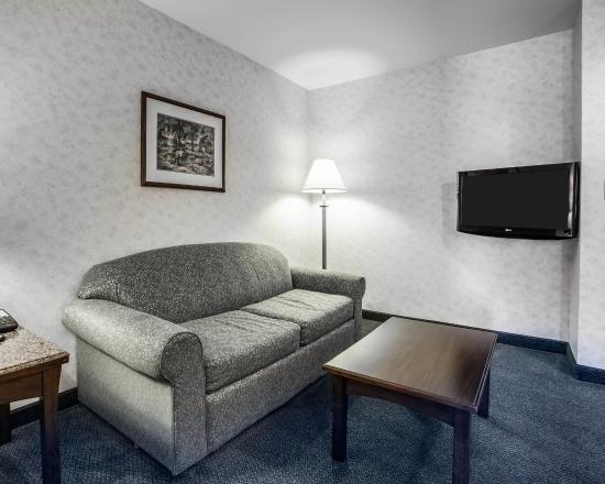 Comfort Inn Bellingham: Sitting Area