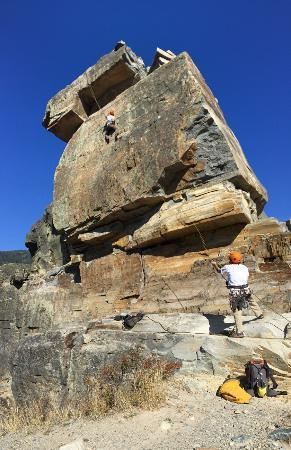 "Rock Climb Montana: Climbing ""Room With a View"""