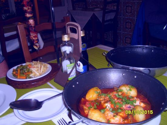 Dom Pipas : The food