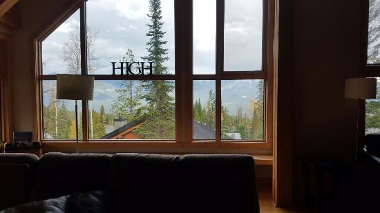 Goleen, Canadá: view from the living room, breath taking