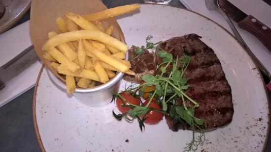 Espresso House: My steak...