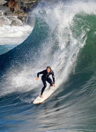 The Wedge Surfing