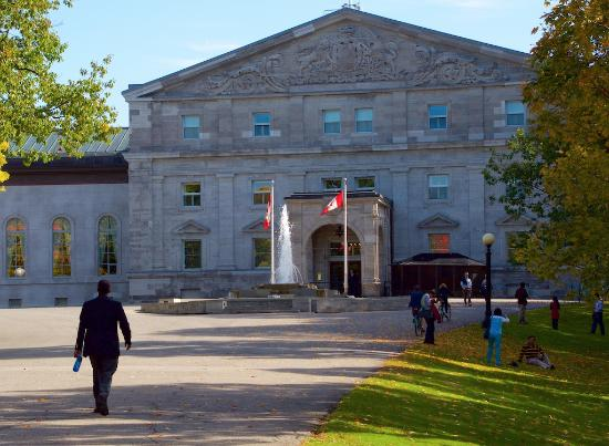 Ottawa, Kanada: The main entrance to Rideau Hall
