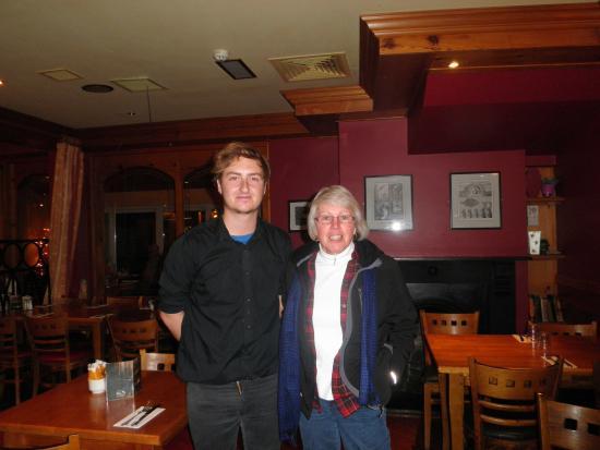 An Cruiscin Lan Hotel: Brian and my friend..