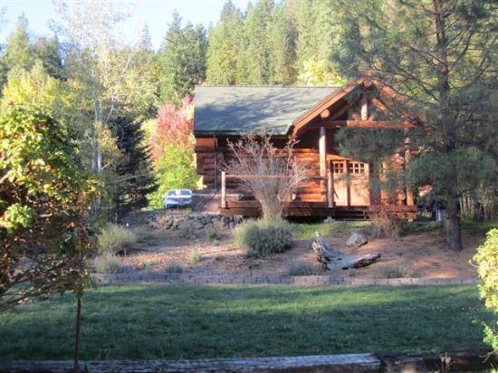 "Kooskia, ID: Our cabin (the ""Woodsman"")"