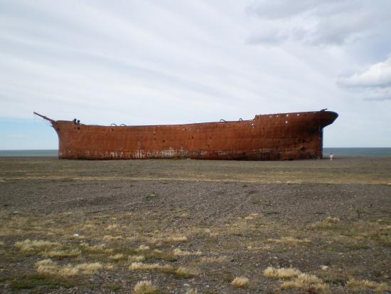 Barco hundido Marjory Glen