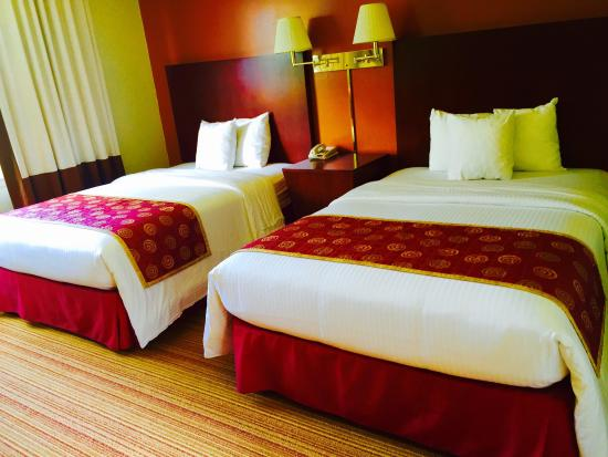 Red Carpet Inn & Suites Plymouth: Double bed