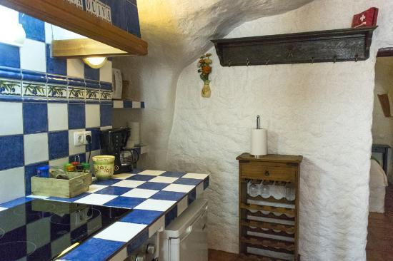 Cuevas Andalucia: cocina