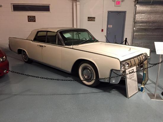 Lbj S Lincoln Picture Of Vintage Grill Car Museum Weatherford