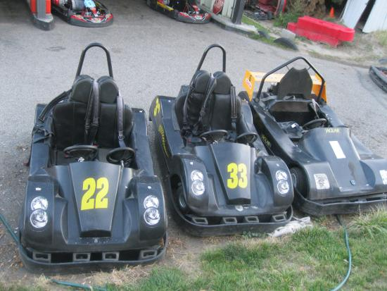 West Kelowna, Canadá: KARTS FOR 2 PEOPLE