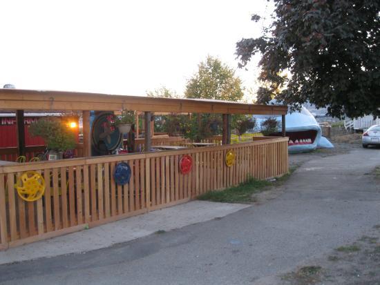 West Kelowna, Kanada: PATIO