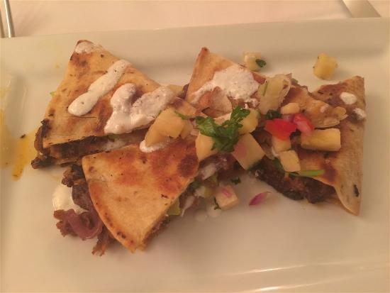 Hudson's on the Bend: Pulled Pork Quesadillas