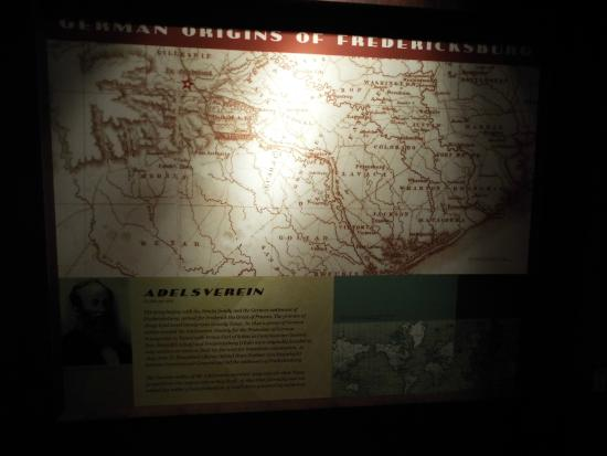 National Museum of the Pacific War: Nimitz Museum - German Heritage Map