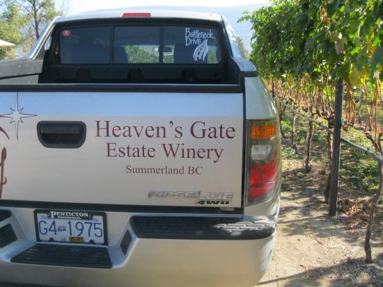 Summerland, Kanada: HEAVEN'S GATE TRUCK
