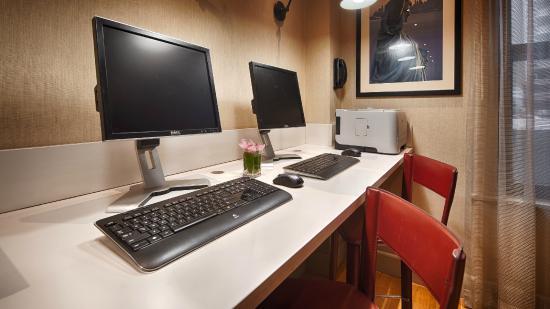 Best Western Plus Hospitality House: Computer/Printer