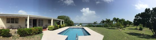 Seatons, Antigua: our pool