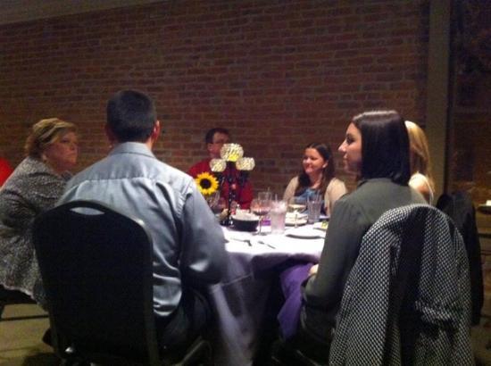 Harrison's Restaurant: Family at the dinner