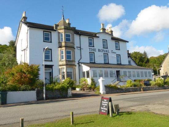 The Royal an Lochan Restaurant: Royal an Lochan hotel.