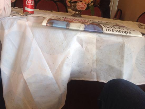 Anywhere That Uses An Old Mouldy Shower Curtain As A Table Cloth