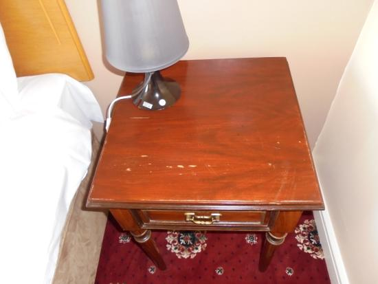 Grand Central Hotel: basic furniture scarred and marked and not good