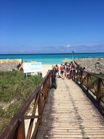 Blau Varadero Hotel Boardwalk To The Beach And Beach Bar