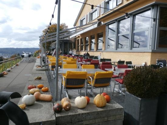 Terrace seating picture of restaurant die waid zurich for Terrace zurich