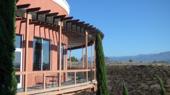 Falkner Winery: Pinnacle restaurant