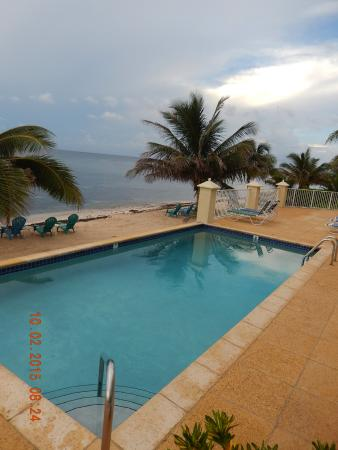 Bodden Town, Grand Cayman: one of the two pools at the inn!