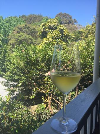 Harvest: View from the verandah
