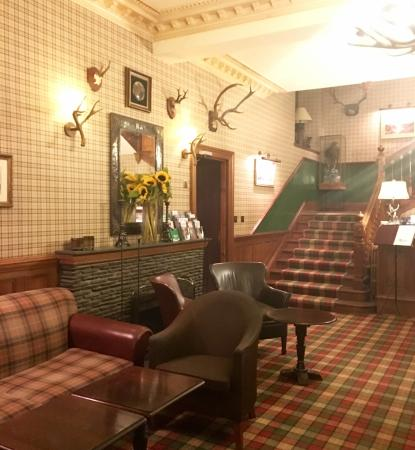 Cairngorm Hotel: view from lobby up