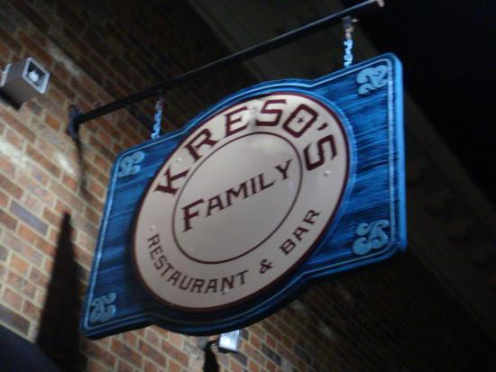 Kreso's Restaurant: Entrance
