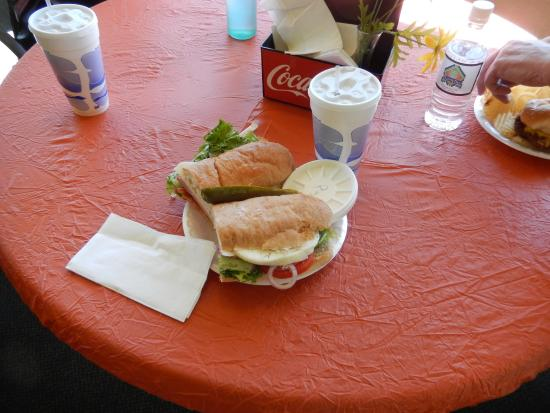 Dunn's Deli: Classic Cold Cut Sandwich is LARGE