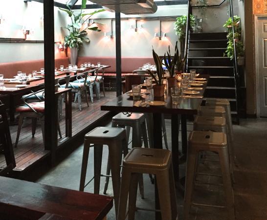 Zona Rosa Bar And Patio Area