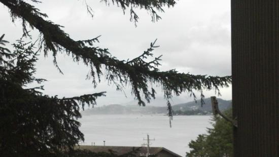 Salishan Lodge and Golf Resort Spa: Bay View from 2nd Floor Rm